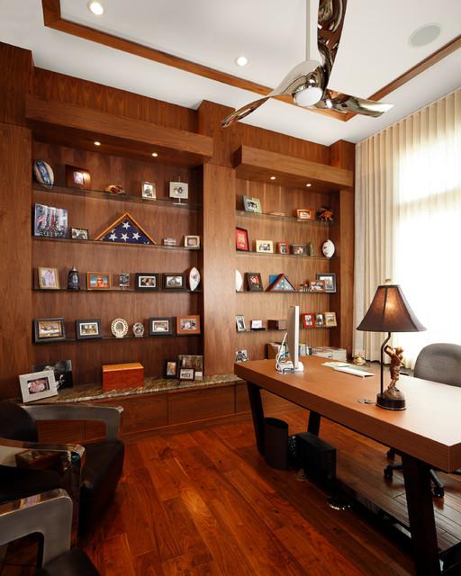 Built Ins Amp Studys Contemporary Home Office Orlando