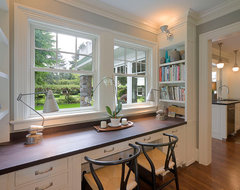 Built-Ins traditional home office