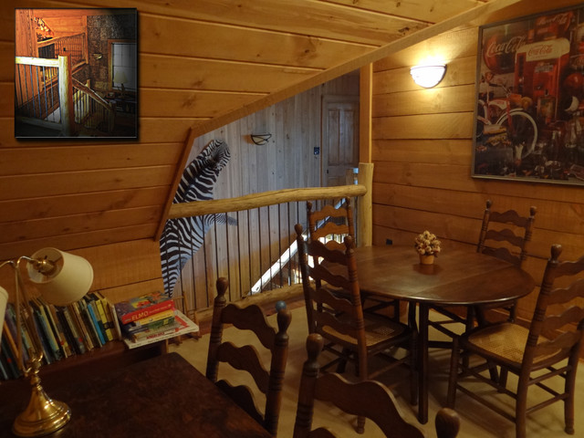 Cabin At Little Pine - Marshall, N.C. traditional-home-office