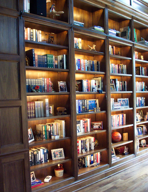Cabinet Lighting Traditional Home Office And Library