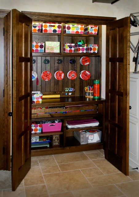 Cabinetry and Built-ins rustic-home-office