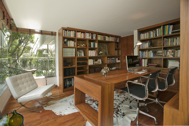 Cafetos contemporary home office