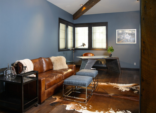 Caldera Rustic Modern With A Twist Of Industrial Contemporary Home Office