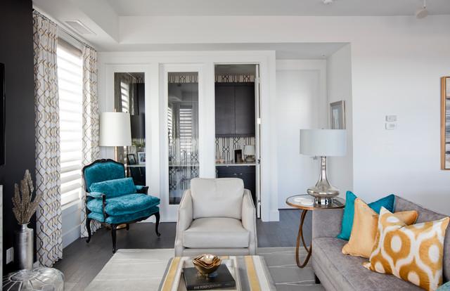 calgary condo contemporary living room calgary by
