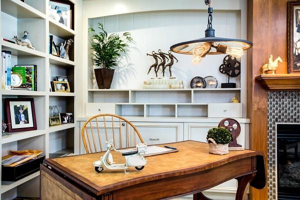 California Tuscan Rancho Santa Fe - CA traditional-home-office