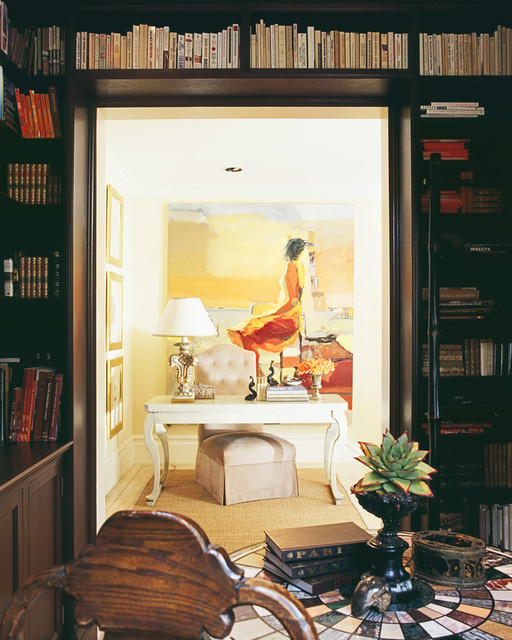 Candace Barnes, Inc. traditional-home-office