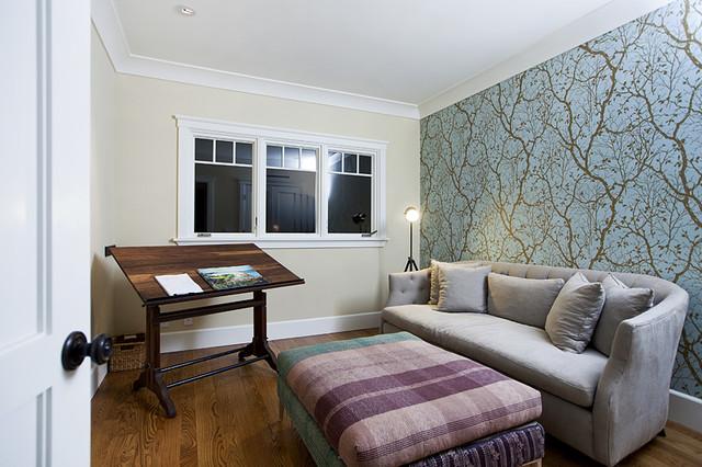 Cape Cod meets Contemporary contemporary-bedroom