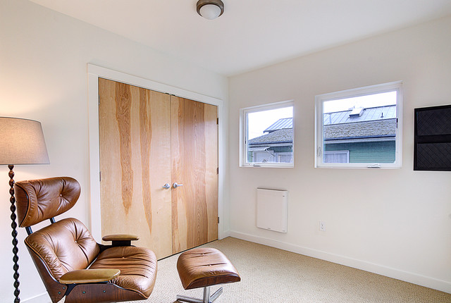 Capitol Hill Remodeled Home transitional-home-office