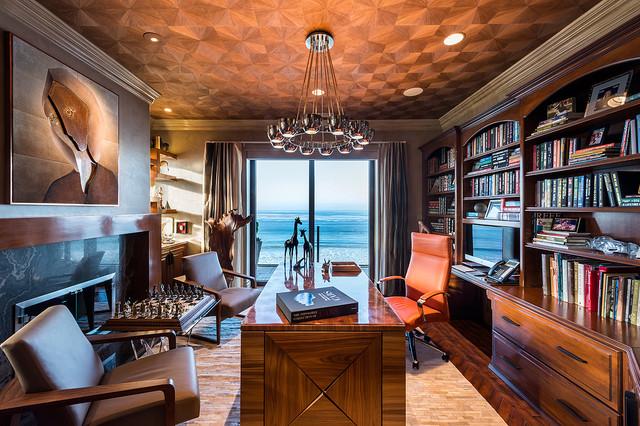 Carlsbad, California, Modern - Tropical - Home Office - Los Angeles ...