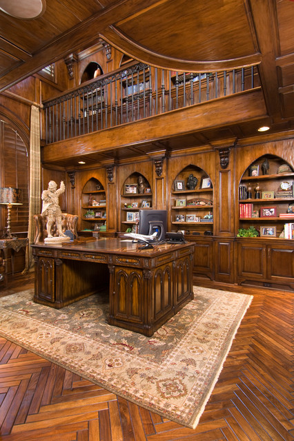 Carlton Woods The Woodlands Tx Mediterranean Home Office Houston By Twenty Two Fifty