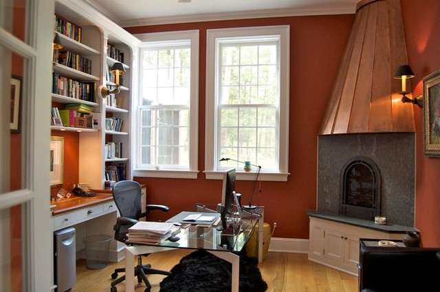 CARRIAGE HOUSE traditional-home-office