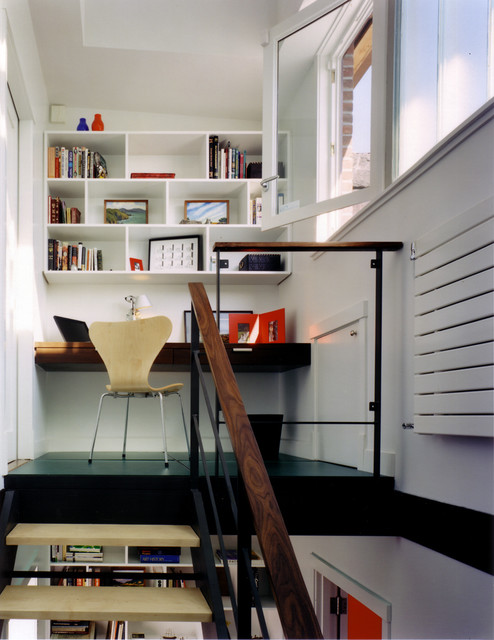 Carroll Gardens Abode modern-home-office