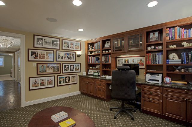 Case Design/Remodeling, Inc. traditional home office