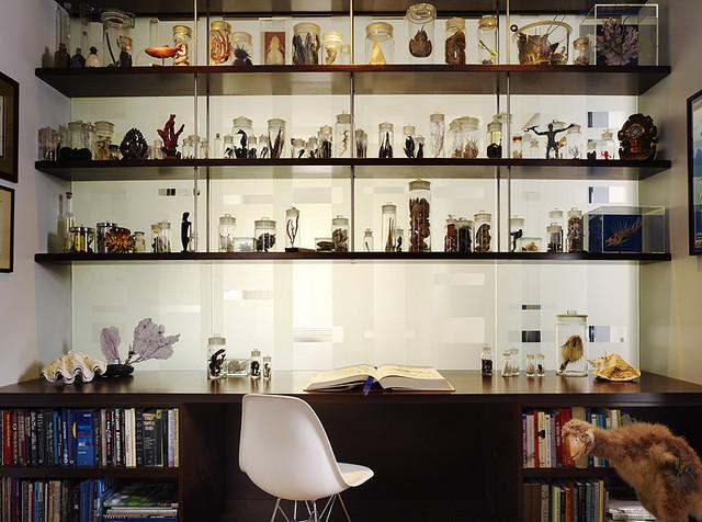 Caselli Residence modern-home-office