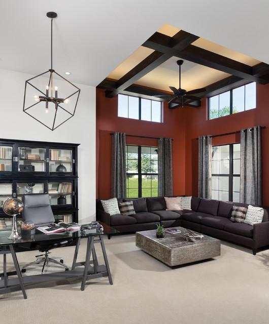 Arthur Rutenberg Homes Custom Home Design Living Area: Castellina 1272 Model Home