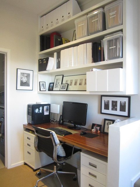 Castle Rock House contemporary-home-office
