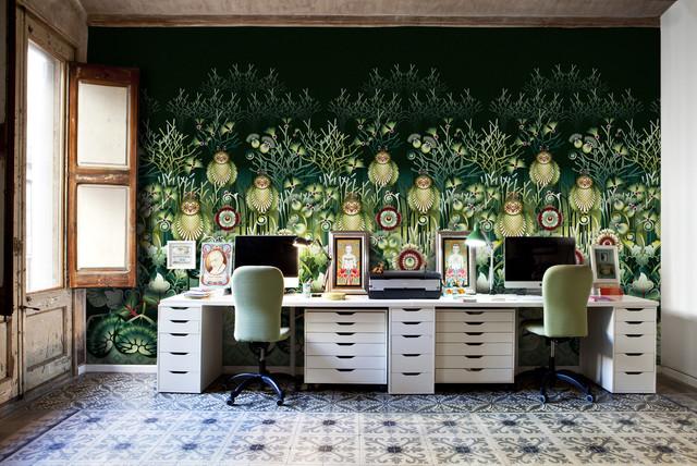 Catalina Estrada eclectic-home-office