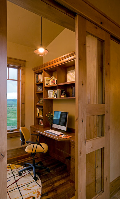 Catamount Ranch traditional-home-office