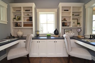 Home Office Design 6 Great Layouts Casa Flores Cabinetry