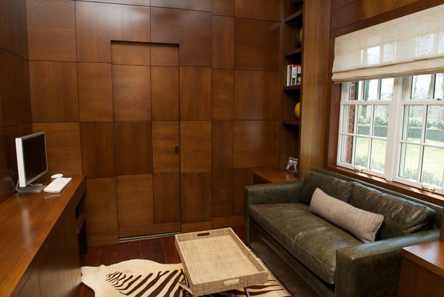 Chappaqua contemporary home office