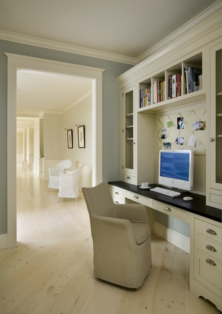 Chartwell house traditional home office for Office design houzz