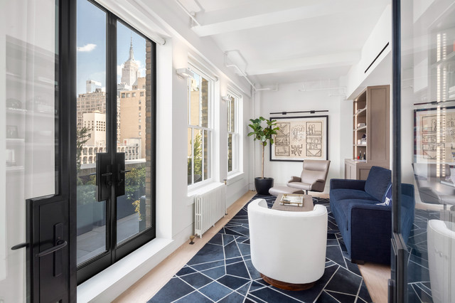 Chelsea Loft Apartment - Contemporary - Home Office - New York - by ...