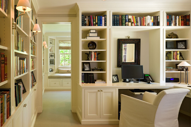 cherry creek traditional home office denver by. Black Bedroom Furniture Sets. Home Design Ideas