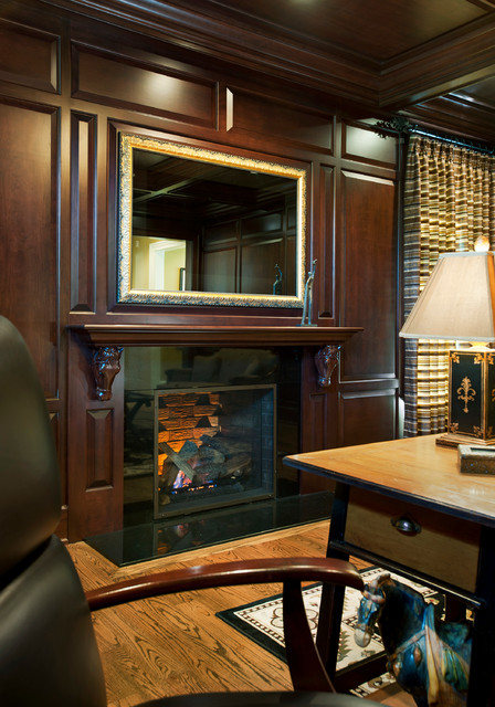 cherry wood study for philadelphia magazines design home blue bell pa traditional home cherry wood home office