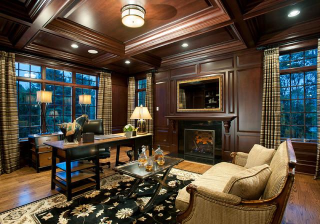 Attrayant Cherry Wood Study For Philadelphia Magazineu0027s Design Home ...