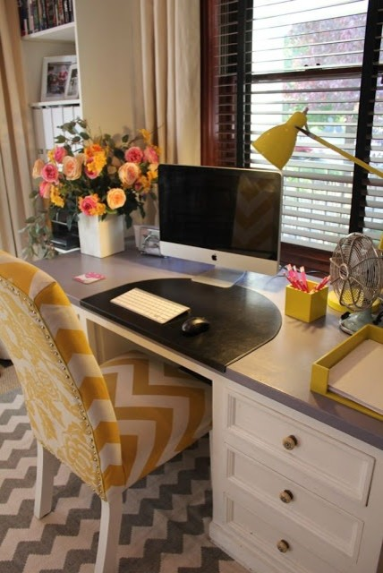 Chic Home Office Eclectic Home Office Salt Lake City By Suzanne Dingley Interiors