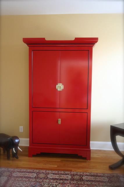 Chinese Armoire asian home office