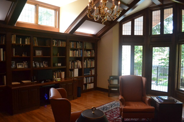 Christoper D. Marshall Architect, LLC traditional-home-office