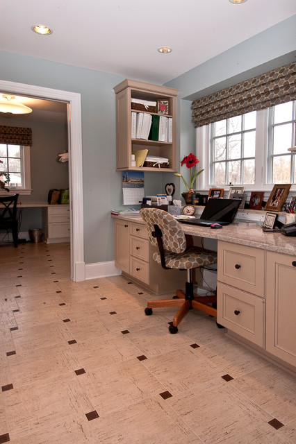 Classic Beauty Traditional Home Office Chicago By Ddk Kitchen Design Group