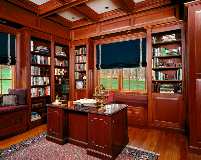 Classic Library Traditional Home Office Other Metro