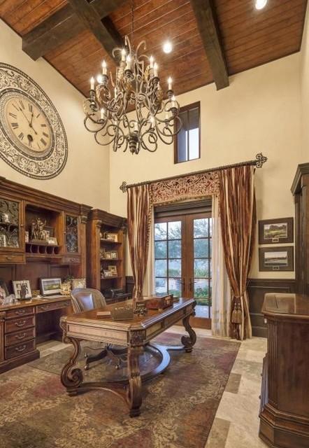 Classic mediterranean luxury home mediterranean home for Classic mediterranean house