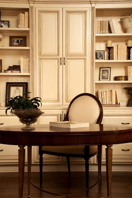 Classic study traditional home office birmingham - Classic home interior design photos ...