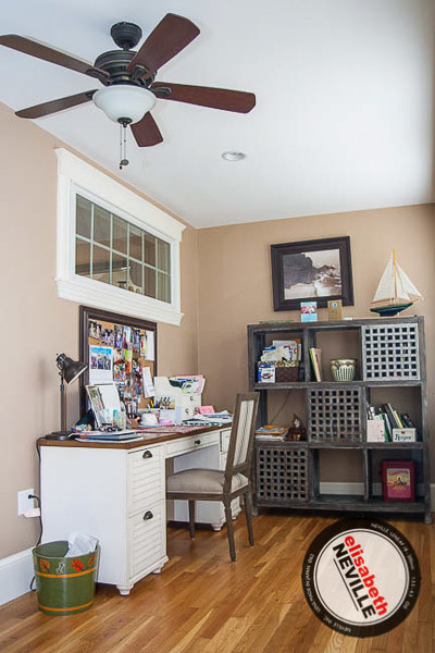 Clifton Ave. traditional-home-office