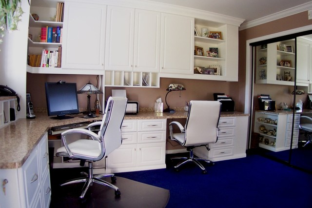 Closet Factory Home Office Designs From Around The Country Traditional