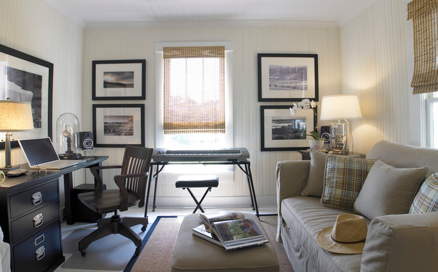 Coastal Cottage Eclectic Home Office Wilmington By