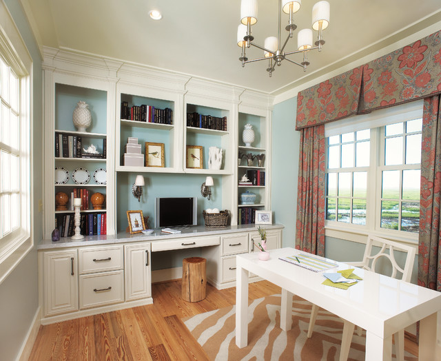 Merveilleux Elegant Home Office Photo In Atlanta
