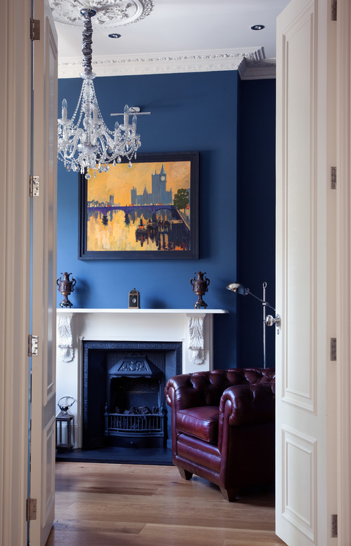How To Hang Art Above A Fireplace Huffpost Canada