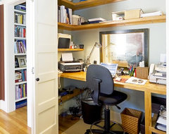 Cole Street traditional-home-office