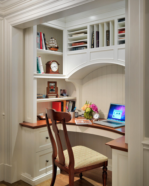 Colonial revival more info - An office turned into a home ...