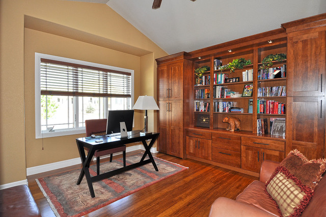 23964 traditional home office design photos