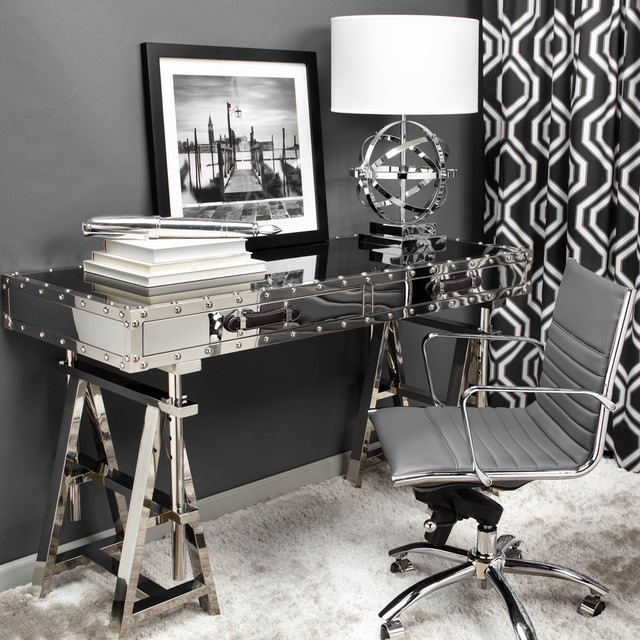 Command Center - Modern - Home Office - other metro - by Z Gallerie