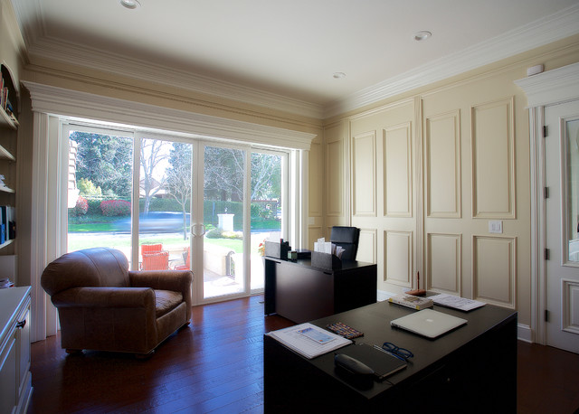Inspiration for a home office remodel in San Francisco