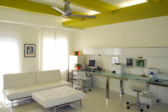 Condo Unit Interior Renovation contemporary-home-office