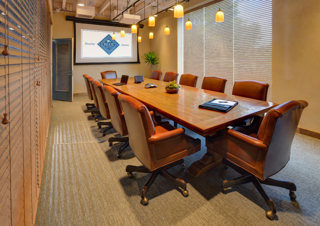 Conference Room Rustic Home Office New York By Beth Rosenfield Design Llc Associate Asid