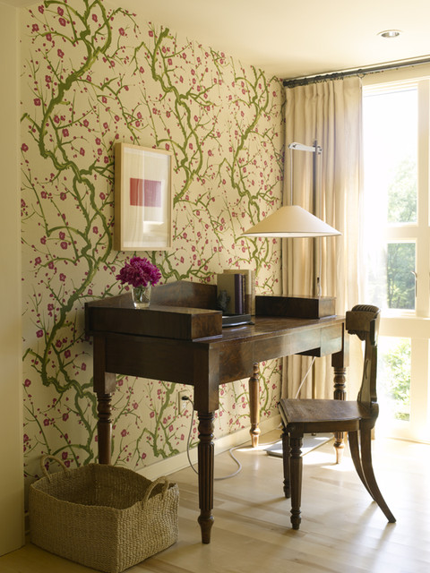 Connecticut House eclectic-home-office