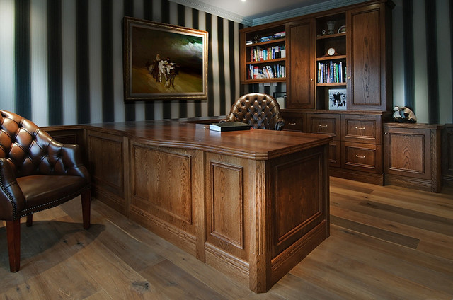Conquest Bespoke Traditional Study/Home Office traditional-home-office